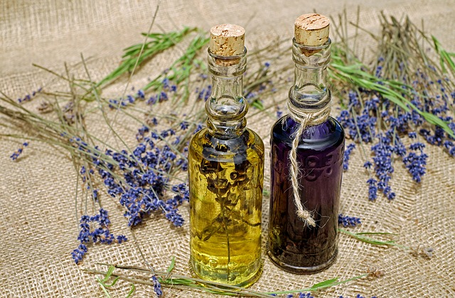 vonný olej z levandule