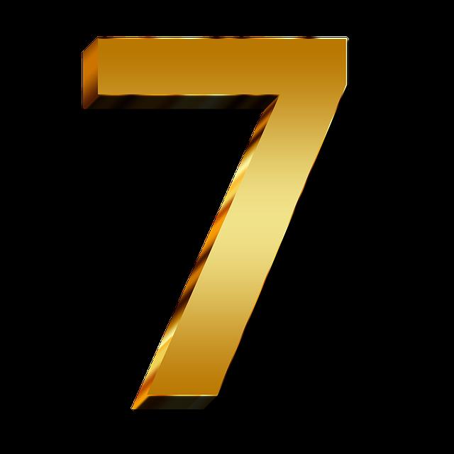 zlaté číslo 7