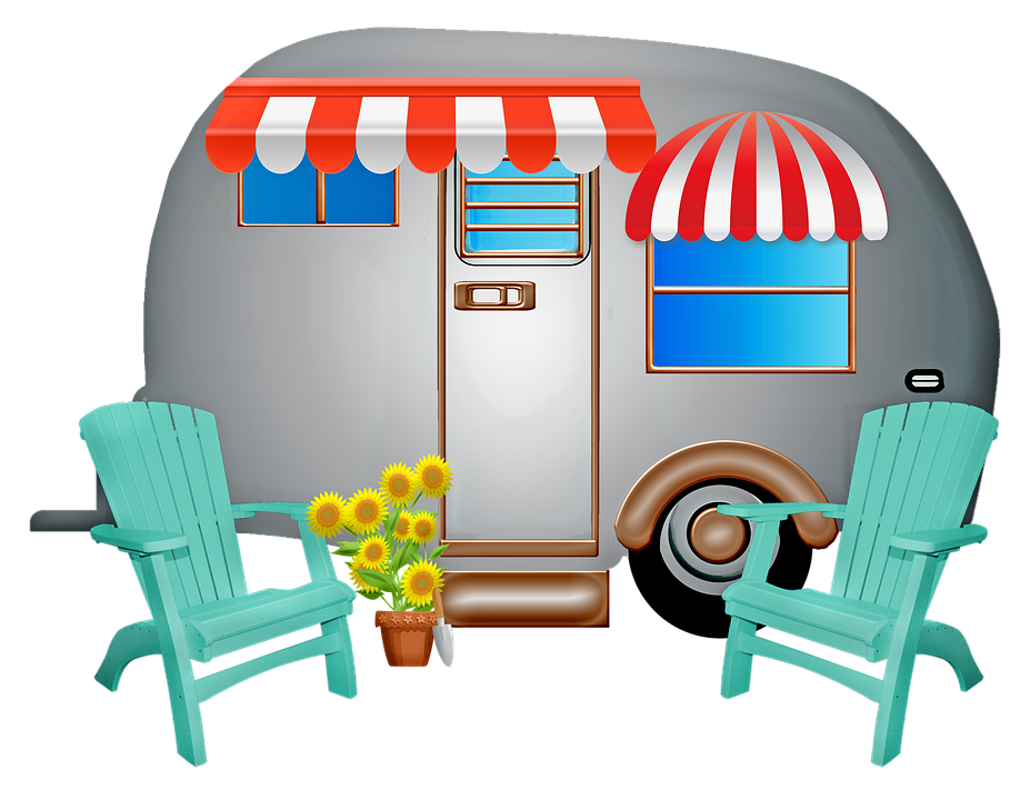 karavan na cestách