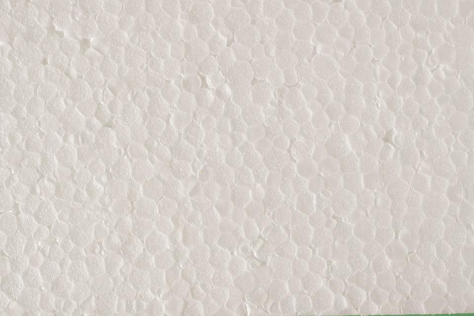 textura polystyrenu